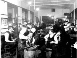 School of Jewellery apprentices c. 1900