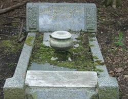 Alfred Gardiner gravestone at Warstone Lane Cemetery