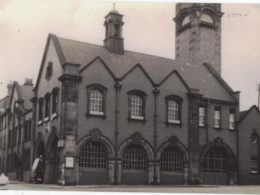 Albion Street Fire Station in 1960s