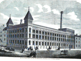 The Argent Centre when it was W E Wiley's Pen Manufactory