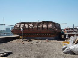 Base of turret (Photo: Blue Monday)