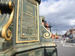 Chamberlain Clock plaque
