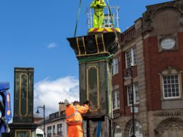 Smith of Derby working on the Chamberlain Clock © Mohammad Idrees
