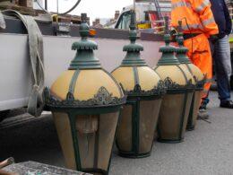 Lanterns from Chamberlain Clock Work. Photo © Pat Rodwell