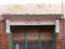 Window detail, 51 Vittoria Street