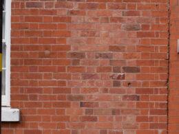 Brickwork alteration, 22 - 24 Vittoria Street ©Pat Rodwell